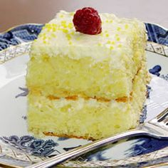 Recipe for lemon fridge cake