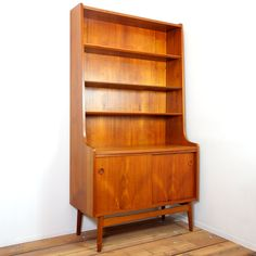 Scandinavian Book Shelf - Mid-Century MODERN Blog