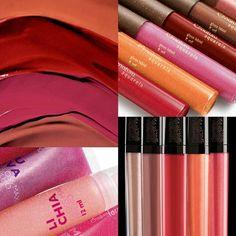 Leve mais brilho para seus lábios. Só hoje, 1/06,  mais de 15 opções de cores com 30% de desconto. Compre online Gloss Una, Aquarela e Faces. Qual sua cor preferida?
