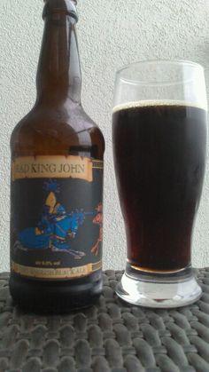 Bad King John (black ale) Ridgeway Brewing
