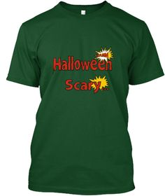 Halloween Scary T Shirt  Deep Forest T-Shirt Front
