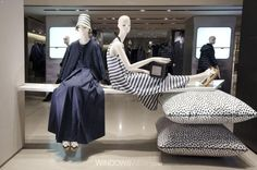 """MAXMARA,Milan,Italy, """"What did you have for lunch Annabella?......"""", pinned by Ton van der Veer"""