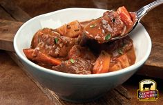 Irish Pot Roast Stew recipe with Certified Angus Beef. #SundaySupper #GoRare