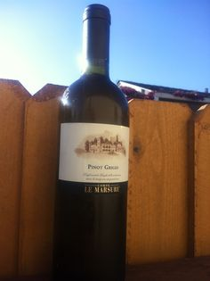 Our well know PInot Grigio Le Marsure available at our store at vino-direct.com