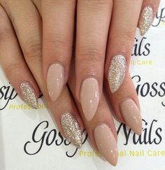 Short stiletto  nails