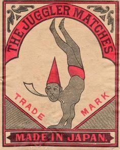 The Juggler Matches (Japan, c. 1920)