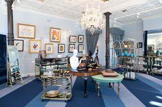 Beautiful!  Thalé Blanc space at the Napoleon Perdis store...@thaleblanc @napoleonperdis