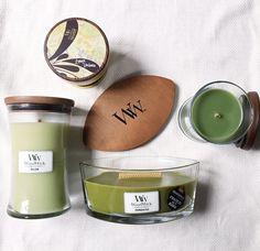 🌿🍃Aujourd'hui on se met au vert! 🌿🍃 GREEN TEA&LIME, SWEET LIME GELATO, PERFECT PEAR, APPLEBASKET, WILLOW, TRANQUILITEA, BERGAMOT&BASILIC... (📷@lepetitendroit) #woodwick #green #vert #woodwickcandle #bergamote #basilic #bougie #bougieaddict #bougieparfumee #hourglass #ellipse #gallerie #pomme #apple #fragrance #senteur #tendance #design #metz #mignon#fruity #idea #gift #shop #cadeau