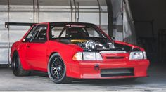 Creations 'n Chrome Fox Body Mustang: Red & Wide, or Blue?