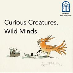 Curious Creatures, Wild Minds CBCA Book Week 2020 A Basic Teacher Guide · Hakea Hustler and Carl Merrison Curious Creatures, Wild Creatures, Drop Bear, Reading Club, Guinness Book, Library Books, Library Ideas, Extinct Animals, Animal Facts