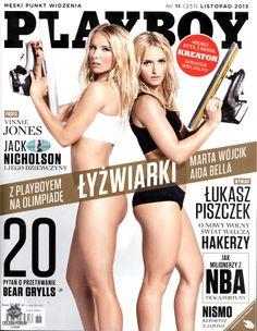 ¡Derriten el hielo! El desnudo de dos patinadoras polacas. Estas dos rubias quieren participar de los Juegos Olímpicos de Invierno y se animaron a una osada producción para la revista Playboy. ¡Mirá la galería de fotos y el video! http://www.diariopopular.com.ar/c175386