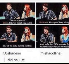 Because Misha....