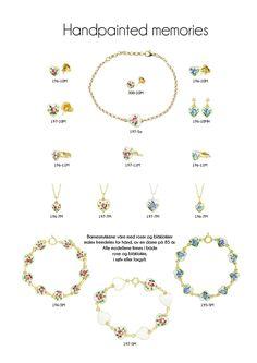 Rufsa barnesmykker i sølv og emalje fra Opro - norske emaljesmykker Rose, Pink, Roses, Pink Roses