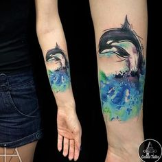 10 Killer Orca Tattoos | Tattoodo
