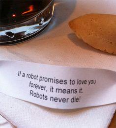 Robots are no joke