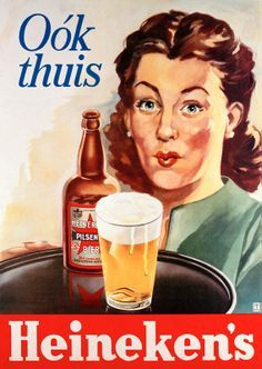 An funny, great and old publicity of #beer #heineken vintage - #googlesearch