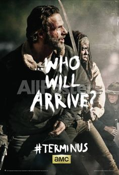 The Walking Dead - Terminus Rick and Michonne People Poster - 61 x 91 cm
