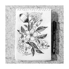 Noviyana Shiali's Drawing #NoviyanaShiali #Flower #Noviyana #Shiali