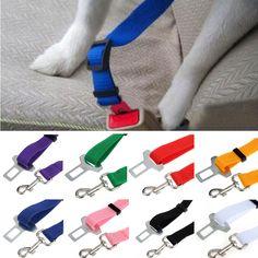 Vehicle Car Seat Belt Seatbelt Harness Lead Clip Pet Cat Dog Safety Aug4 Price: USD 1.26   United States