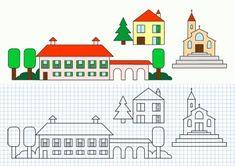 Cornicette con case e edifici