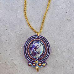 Handmade ZuzDesign Soutache Bohemy http://femmefashion.sk/zuz-design/2381-nahrdelnik-bohemy.html