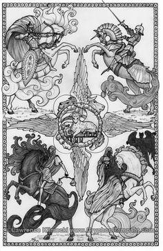 Klimecki - four horsemen of the  apocalypse