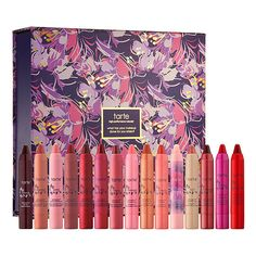 Tarte Lipsurgence Collector's Set ($175) @Tarte Creative Marketing Creative Marketing cosmetics