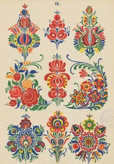 folklore patterns - Google zoeken