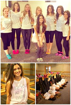 A Bachelorette Party at the Barre!