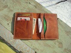 Minimalist wallet slim bifold wallet slim leather wallet