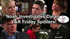 The Young and the Restless Spoilers: Noah Investigates Dylan Mystery, Sharon's Huge Admission – Michael Suspects Jack and Gloria | Celeb Dirty Laundry