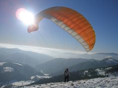 Paragliding, Slovakia Donovaly Heart Of Europe, Paragliding, Mount Everest, Earth, Mountains, Country, Nature, Travel, Tips