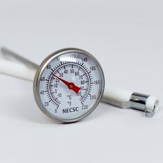 DESCRIPTION: With an easy to read dial that ranges from this is a great economical dairy thermometer for making cheese at home. DETAILS: Dial Head Pocket Thermometer, S/S stem with storage sleeve. TO CLEAN: Wash stem only. Making Cheese At Home, Cheese Making Supplies, How To Make Cheese, Kefir Yogurt, Organic Supplies, Cooking Timer, Make It Simple, Dairy, Cleaning