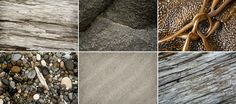 a selection of textures