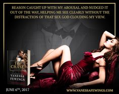 The Chase, Vanessa Fewings,  Icon Trilogy, Teaser Wednesday, Romance, Suspense