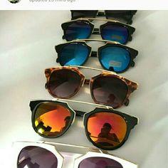 Fashion 2016 hot selling cay eye frame half mirror 1 for  14 2 for 25 3 for 30 Fashion 2016 hot selling cay eye frame half mirror lens so real sunglasses for women & men brand designer.oculos de sol feminino Accessories
