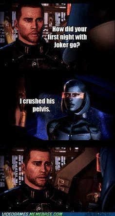 pelvis edi joker mass effect mass effect 3 shepard that was a joke ...