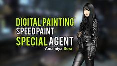 Digital Painting Speedpaint Special Agent
