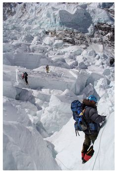 Khumbu ice fall