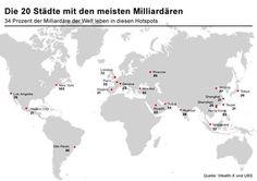 Foto: In diesen 20 Städten leben die meisten Milliardäre:
