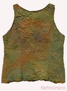 fieltroUnico - T shirt, merino y seda