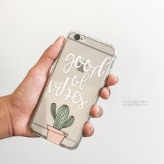 'Good Ol' Vibes' #goodvibes #cactus #cacti #iphonecase #milkywaycases WWW.SHOP-MILKYWAY.COM