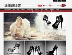 www.delisiyim.com Ayakkabı , Topuklu ayakkabı , Dolgu topuk