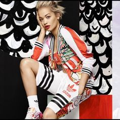 RITA ORA FOR ADIDAS Limited Edition Shorts Part of the Dragon Pack line that is no longer available in stores. Adidas Shorts