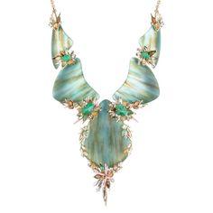 Desert Jasmine Cascading Bib Necklace | Alexis Bittar