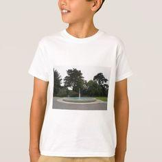 #SF Botanical Gardens Fountain Plaza Kid's T-shirt - #cool #kids #shirts #child #children #toddler #toddlers #kidsfashion