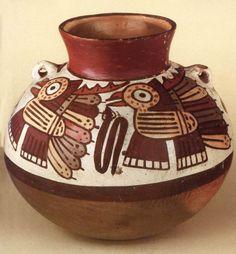 ancient peruvian pottery | Roemer-Pelizaeus Museum: America Ancient Peruvian, Peruvian Art, Hispanic Art, Hispanic Culture, Bird Quilt, Mesoamerican, Historical Artifacts, Inca, Ancient Civilizations