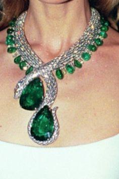 Cartier Snake Necklace.