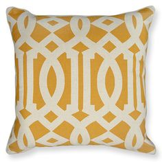 Latifa Yellow Cushions perfect for this summer