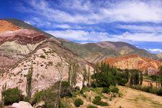 Quebrada de Humahuaca, Argentina.  http://www.worldheritagesite.org/sites/quebradadehumhuaca.html